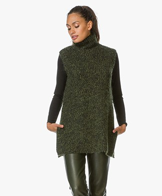 T by Alexander Wang Chunky Mohair Coltrui