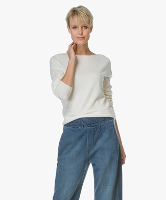 Repeat Cashmere Boothals Trui