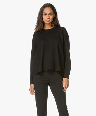 Theory Merino A-line Pullover Twylina