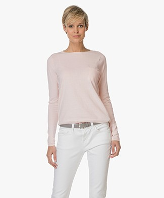 BY-BAR Blow Cotton Pullover - Old Pink