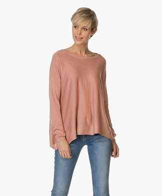 Repeat Silk and Cashmere Pullover - Gloss