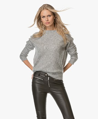 By Malene Birger Biagio Mohair Sweater - Grey