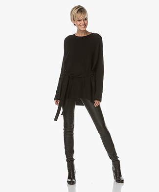 Theory Karenia in Cashmere - Black
