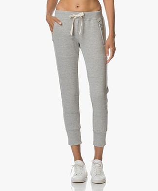 Sincerely Jules Lux Joggers - Heather Grey