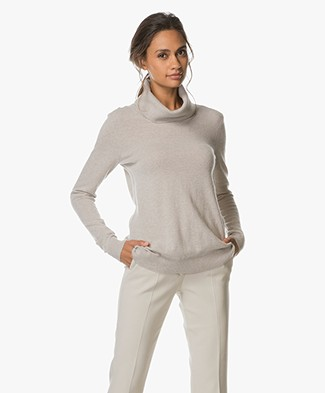Belluna Sharm Turtleneck Pullover - Beige