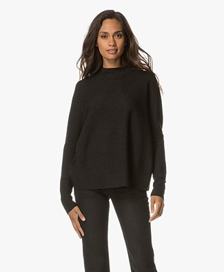 Drykorn Lya Wool Knitted Pullover - Anthracite