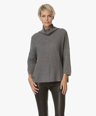 Repeat Cashmere Coltrui - Medium Grijs