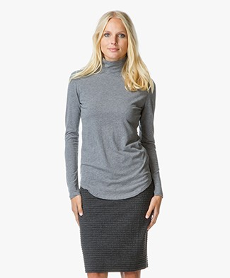 Majestic Cotton and Cashmere Pullover
