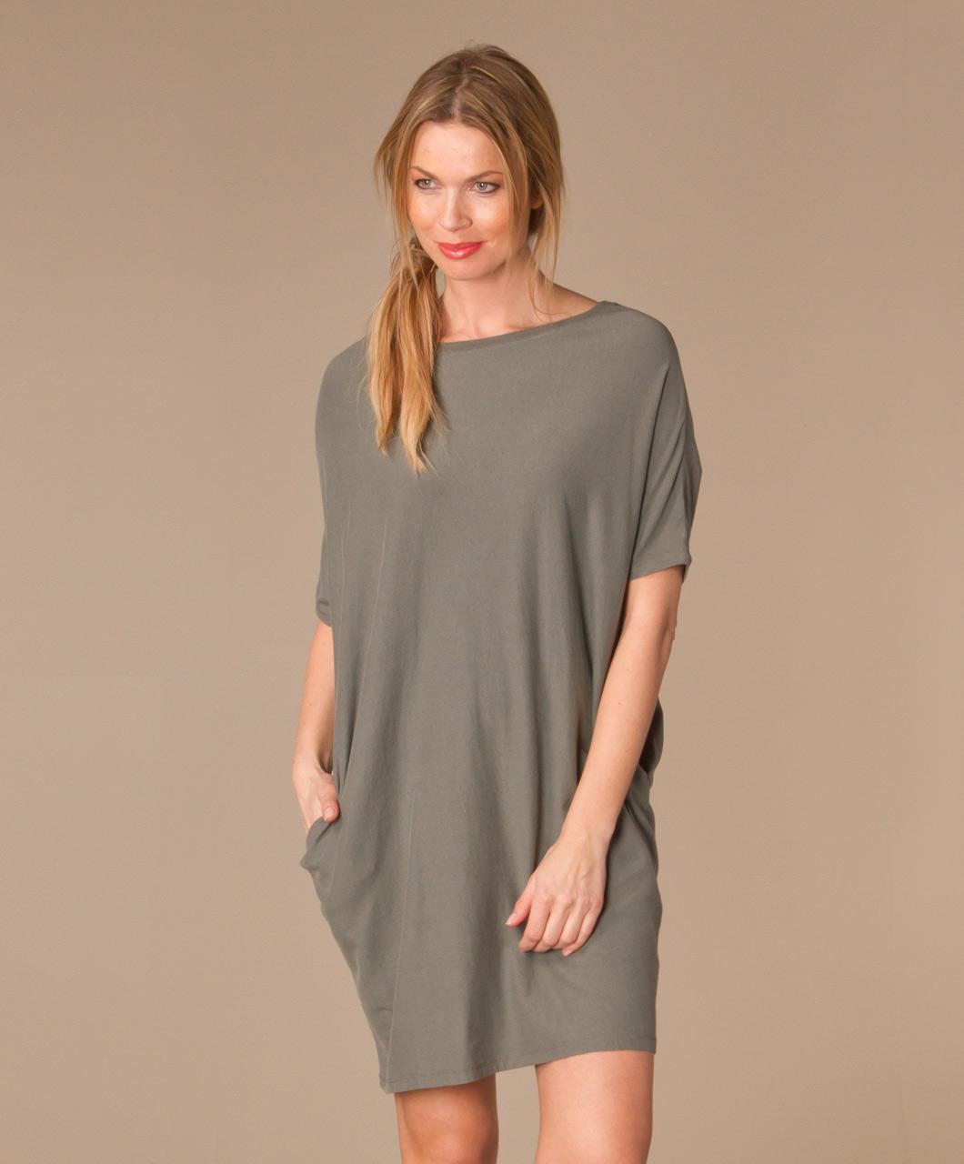 Oversized shirt jurk