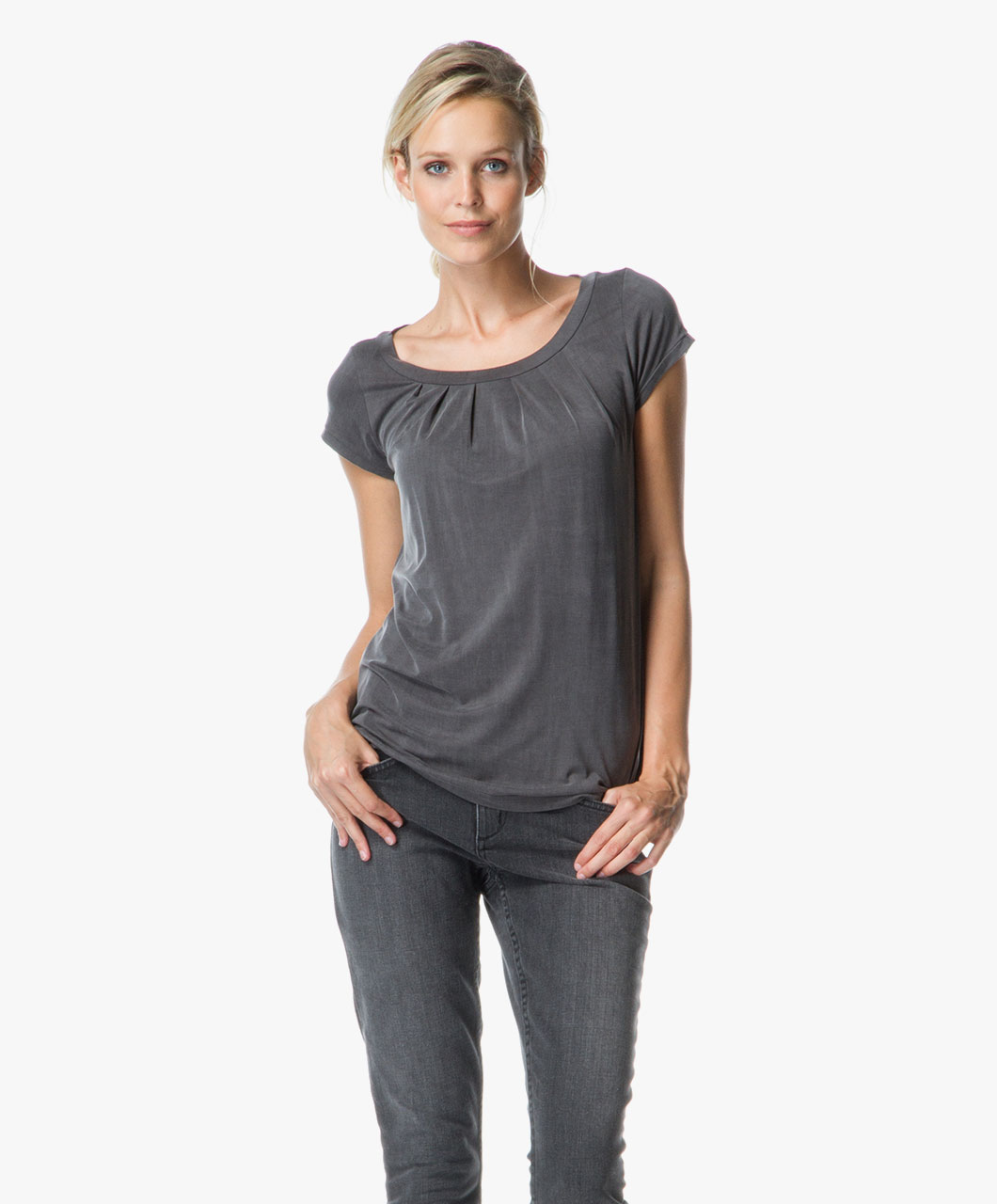 Shop the look on trend en comfy perfectly basics for Best no iron shirts