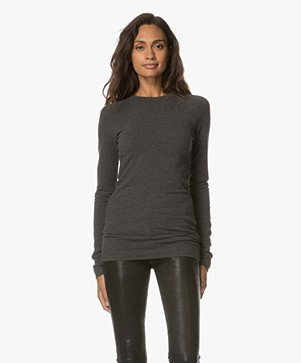 Drykorn Franca Long Sleeve - Dark Grey