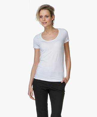 Majestic Soft Round Neck T-shirt