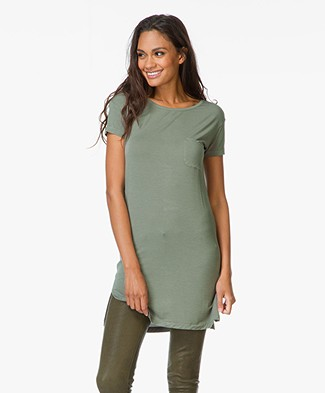 Majestic Soft Basic T-Shirt Dress