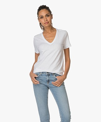 Rag & Bone / Jean The Vee T-shirt - Bright White
