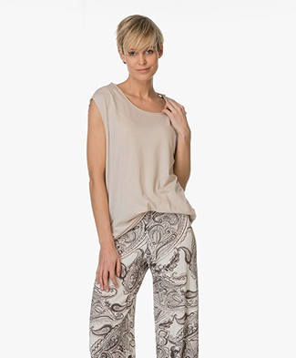 BRAEZ Cotton Blend Top - Mud