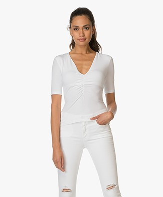 T by Alexander Wang Modal T-shirt - Wit