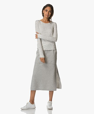 Filippa K Relaxed Slub Jersey Top - Off White