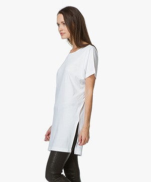 Equipment Whitman Oversized T-Shirt - Bright White