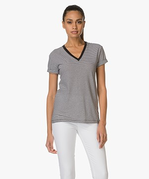 T by Alexander Wang V-Neck T-shirt