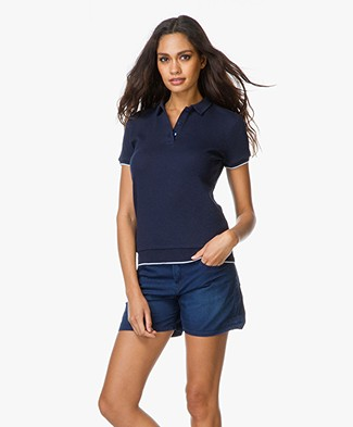 Majestic Cotton Polo T-Shirt