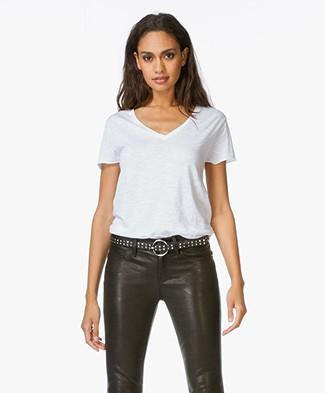 American Vintage T-shirt Jacksonville - White 2d1d9508ff0