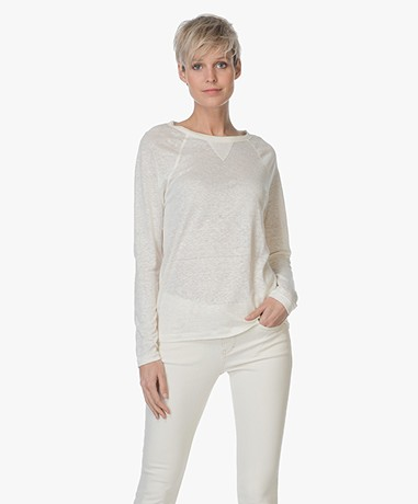 Filippa K Linen Sweatshirt T-shirt - Navajo
