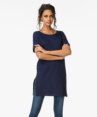 Equipment Whitman Oversized T-Shirt - Peacoat
