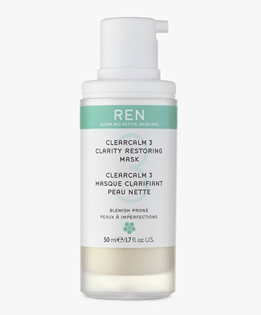 REN Clean Skincare ClearCalm 3 Clarity Restoring Mask