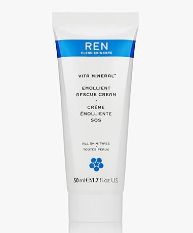 REN Clean Skincare Vita Mineral Emollient Rescue Cream