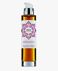 REN Clean Skincare Moroccan Rose Otto Ultra-Moisture Body Oil