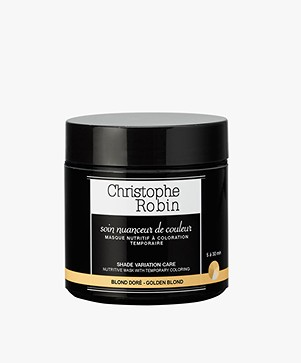 Christophe Robin Golden Blonde Shade Variation Hair Care