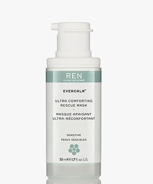 REN Clean Skincare Evercalm Ultra Comforting Rescue Mask