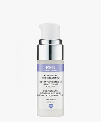 REN Clean Skincare Instant Brightning Beauty Shot Eye Lift - Keep Young and Beautiful