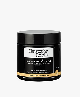 Christophe Robin Golden Blonde Shade Variation Hair Care