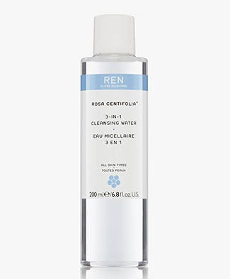 REN Clean Skincare Rosa Centifolia 3-IN-1 Cleansing Water