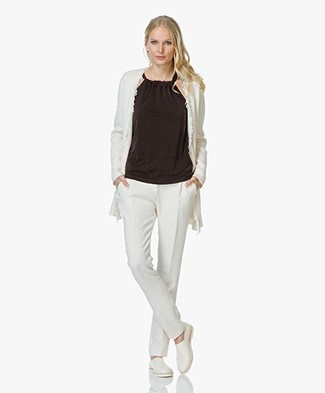 By Malene Birger Agnetas Knitted Cardigan - Soft White