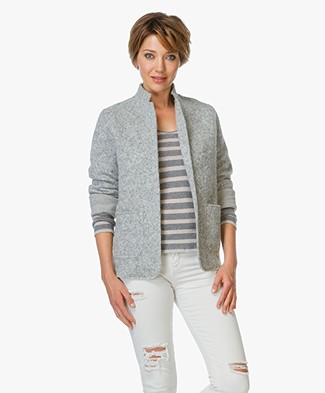 Majestic Knitted Blazer