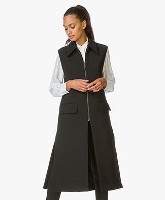 Filippa K Hollie Vest Coat - Black