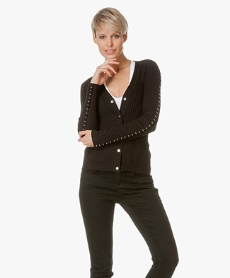 Alexander Wang Ribbed Cardigan