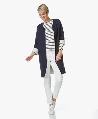 Josephine & Co Long Cardigan Ella - Navy
