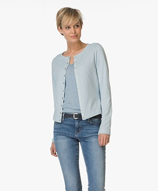 Josephine & Co Eban Jersey Cardigan - Light Blue