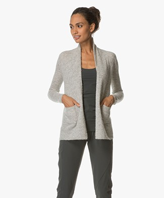 Belluna Bibi Open Vest - Light Ash
