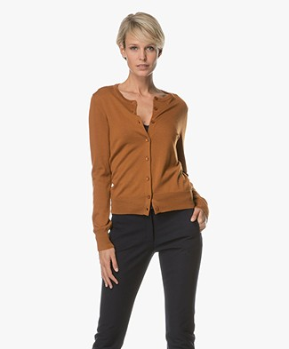 Filippa K Kort Vest in Merinowol - Autumn