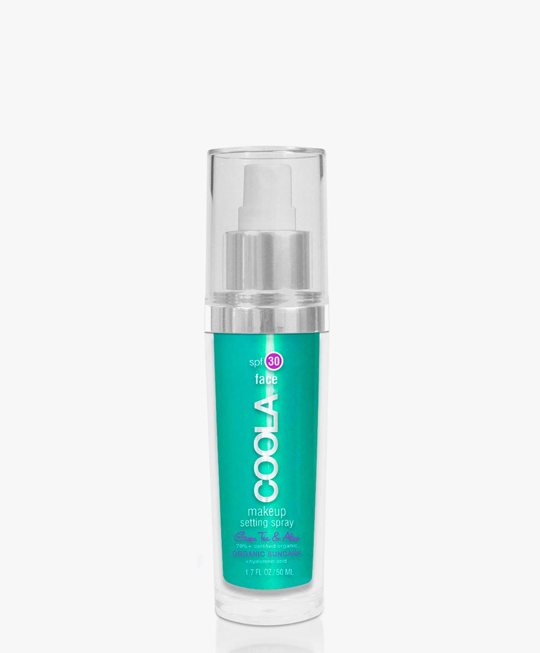 Afbeelding van COOLA Makeup Setting Spray SPF 30 Green Tea
